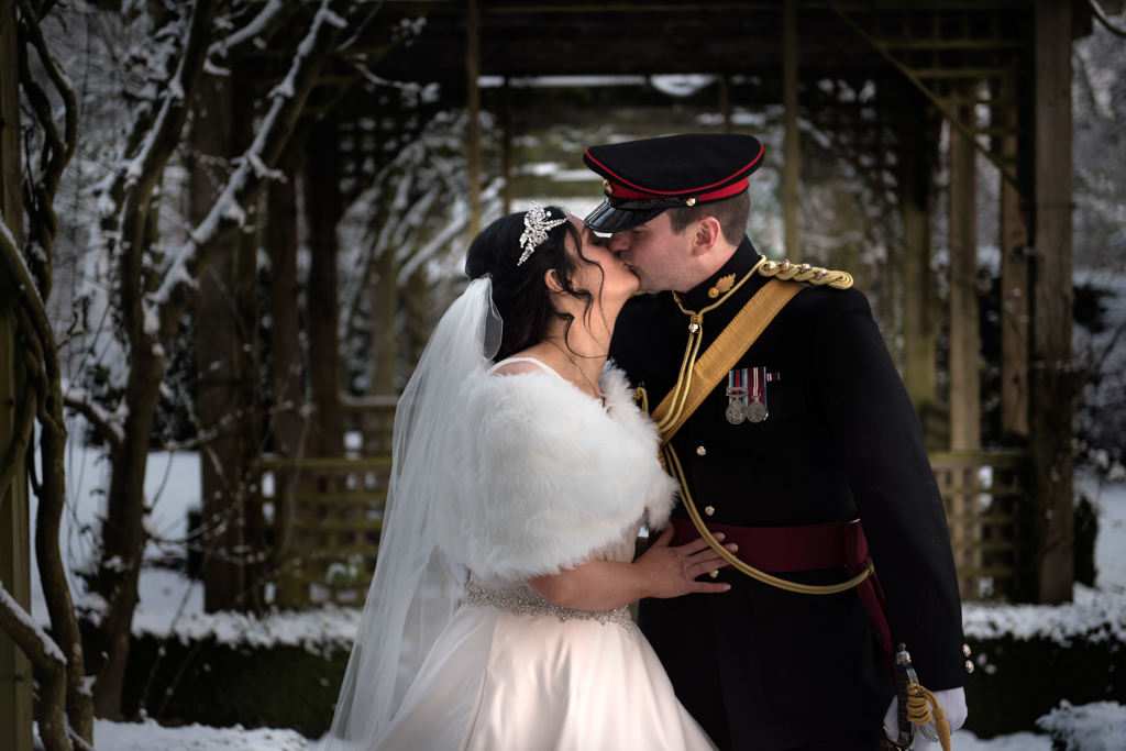 Matfen Hall Winter Wedding